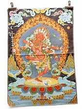 Tibet Collectable Silk Hand Painted Immortal Thangka  gd9629