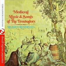 Medieval Music & Songs Of The Troubadors - Musica Reservata (2013, CD NEUF)