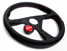 MOMO STEERING WHEEL MONTE CARLO 350MM BLACK / RED