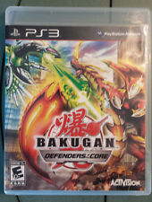 PS3 Bakugan: Defenders of the Core (Sony PlayStation 3, 2010) Complete