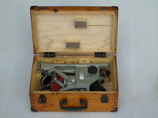MINT VINTAGE RUSSIAN OPTICAL BEARING FINDER NO.400255 & OPERATING MANUAL CERT.