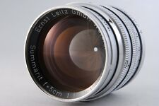 【C Normal】 Leica Summarit 5cm 50mm f/1.5 Lens Leitz for L39 Screw JAPAN #2342