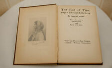 The Bird of Time Songs of Life Death Spring by Naidu Sarojini Indian Poet 1st ed
