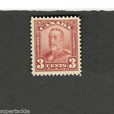 Canada SCOTT #151 Admiral red 3 cent MH F-VF stamp