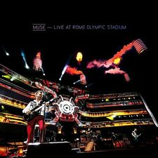 CD + DVD Set Live At Rome Olympic Stadium - Muse Sealed New 2013