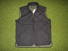 $150. Men's Black Quilted Vest (XL) J. CREW