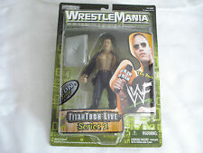 WWF Wrestlemania Titan Tron Live Series 3 THE ROCK Figure 1999 Jakks Pacific MIP