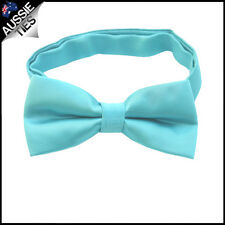 YOUNG BOYS BOW TIE kids children toddlers Pre-tied wedding bowtie CHOOSE COLOUR