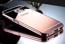Metal De Aluminio Espejo Funda+PC Trasero Funda Para Samsung Galaxy S7/Borde/