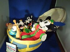 Disney Silly Symphonies The Band Concert 1935 Cartoon Stuffed Animals in Drum