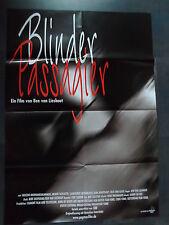 BLINDER PASSAGIER - Filmplakat A1 - Ben van Lieshout