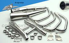 MOTAD Edelstahl Auspuff Exhaust Honda CB 750 F CB 900 F 80-82 RC04 SC01 NEW