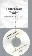 PROMO CD--3 DOORS DOWN--WHEN IM GONE -- POP MIX--
