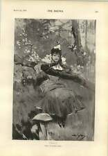 1893 Folly Personification Dudley Hardy Sunderland Way Ahead Wj Ford Lincoln