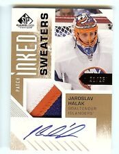 2016-17 SP Game Used - JAROSLAV HALAK - Auto Inked Sweaters Patch Autograph /25