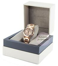 BURBERRY BU9034 Swiss Made Rose Gold Tone Stainless Steel Unisex Classic Watch