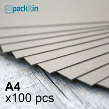 A4 Backing Boards - 100 sheets 700gsm - chipboard boxboard cardboard recycled