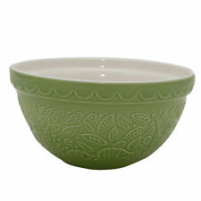 Mason Cash In The Forest S30 Green Mixing Bowl 21cm Large Ceramic Bowl