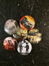 """1.25"""" Neutral Milk Hotel pin back button set of 6"""