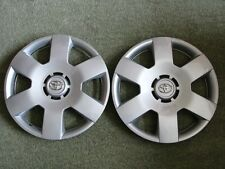 "X2 Original Toyota YARIS AYGO 14"" Wheel Trims Cover Hub Cap No:42602-0H010"