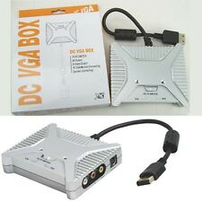 VGA/AV/S-VIDEO HD HDTV Adaptor Switch Box for Sega Dreamcast consle - new boxed