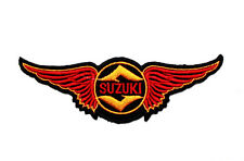 NEW! SUZUKI Wing Super Bike Motorcycles Sports racing Jacket Shirt Iron on Patch