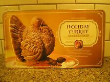 Williams-Sonoma Holiday Turkey Cake Pan Thanksgiving  Nordicware 10 cup Mold 3D