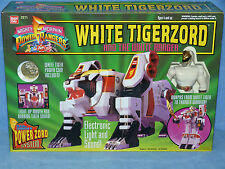 POWER RANGERS MMPR MIGHTY MORPHIN DX WHITE TIGERZORD BRAND NEW IN SEALED BOX