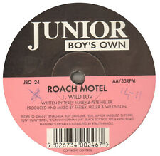 ROACH MOTEL - Happy Bizzness / Wild Luv - 1994 - Junior Boy's Own - JBO 24 - Uk
