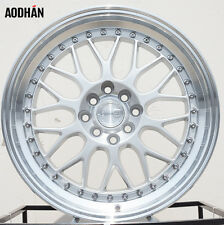 17x8 AODHAN AH02 Wheels 8H 4x100 et 35 For Mini Cooper Acura Integra Rims set