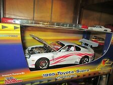 95 TOYOTA SUPRA DRIFTING 1995 1/18 ERTL AMERICAN MUSCLE STREET TUNER 1 of 2500