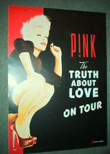 PINK Rare Australian PROMO Tour POSTER Truth About Love