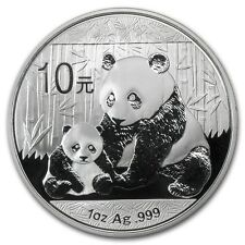 2012 1 oz Silver Chinese Panda Coin - Brilliant Uncirculated - SKU #65588