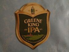 Beer Coaster: Beer King Fine Ale ~ Crafted In Bury St Edmunds ~ Suffolk England