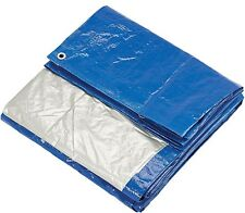 12' x 20' Tarp Canopy Weather Resistant Tarpaulin Ground Car Boat Woodpile Cover