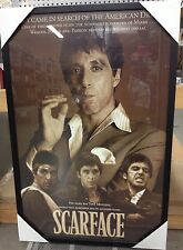 "New Framed Scarface Al Pacino Art Poster Print LARGE 24X36 ""The American Dream"""
