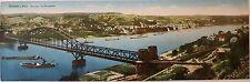 Photographie colorisée, Le pont Ludendorff, Allemagne