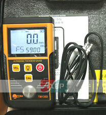 Digital Ultrasonic Wall Thickness Gauge Tester Meter TM130D better than GM100