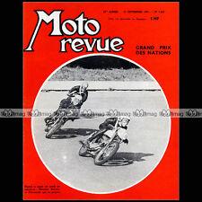 MOTO REVUE N°1558 HERRANTS BELTOISE OFFENSTADT GRAND PRIX DES NATIONS MONZA 1961