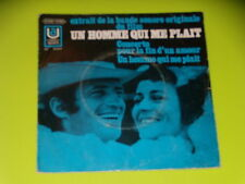 45 TOURS SP - B.O.FILM - UN HOMME QUI ME PLAIT - BELMONDO - 1969