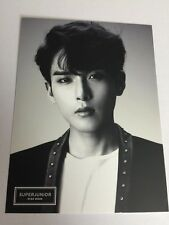 Super Junior Official Goods RyeoWook Postcard (no Photocard)