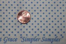 "AUNT GRACE ""SIMPLER SAMPLER"" QUILT FABRIC CIRCA 1930's BTY FOR MARCUS 5876-0335"
