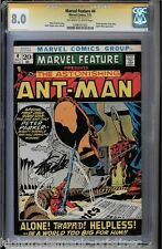 MARVEL FEATURE #4 CGC 8.0  OWW STAN LEE SS SIGNED ANT-MAN CGC #1206551022