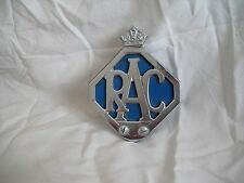Original 1950/60s, RAC Car Badge.Good Condition,morris, austin,mini,ford, AA,MG