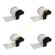 4  ROLLS 62mm x 30.48M CONTINUOUS DK22205 QL500 QL 550 560 570 DK-22205 Labels