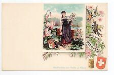 SUISSE SWITZERLAND canton NIEDWALDEN OBWALDEN cpa 1900 costume Souvenir NIDWALD