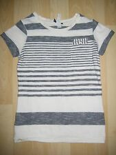 Girls Aged 4 Years White / Black Striped Top from Next