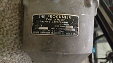 The Procunier Tap King tapping attachment size 4 style F