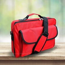 "High Quality Laptop Notebook Carrying Briefcase Bag 15.6"" 17.3"" 18"" 18.4"" Red"