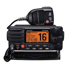 Standard Horizon Matrix GX2000 Class D VHF Marine Boat Radio w/ AIS Input 30W PA